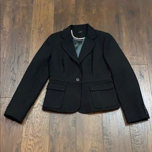 J. Crew Jackets & Coats - J Crew black wool blend blazer
